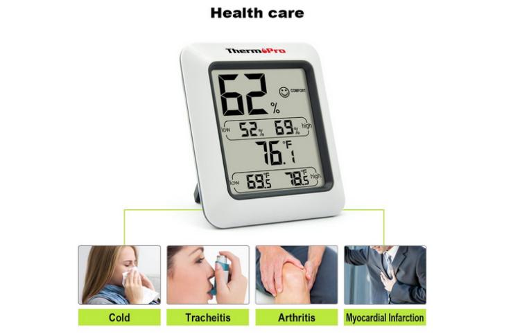 Avis et Test thermopro tp50 : le meilleur hygrometre